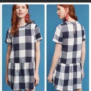 Maeve (from Anthropologie) Drop Waist Mini Dress